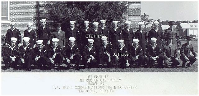 Corry CT School Basic Class 03C-67(R) March 1967