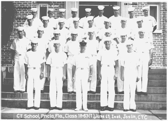 Corry CT School Class 18-63(T) - June 1963