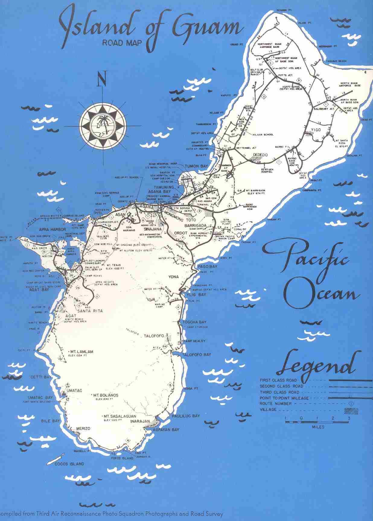 NSGDept Guam Mariana Islands Map Of Guam - Guam map