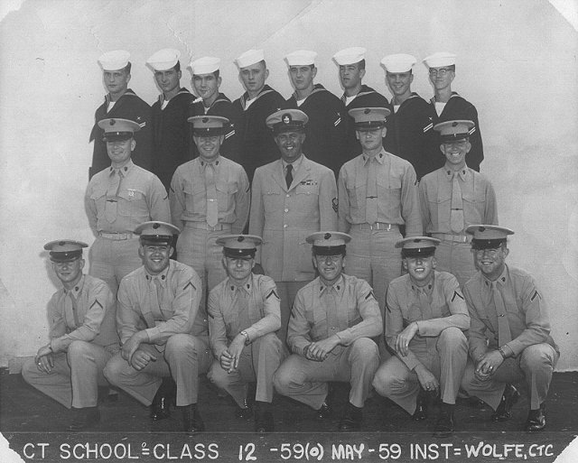 Imperial Beach (IB) Class 12-59(O) May 1959 - Instructor CTC Wolfe