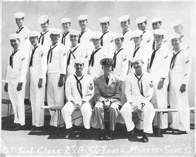 Imperial Beach CT School Adv. Class 23-A(R) - Sep 1956