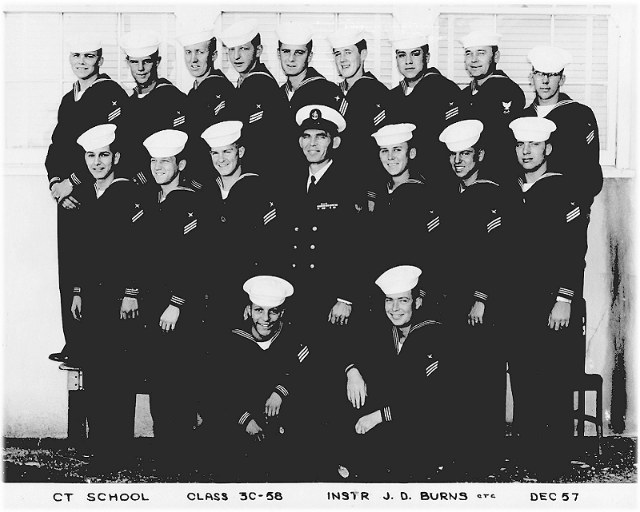 Imperial Beach CT School Advanced Class 3C-58(R)  -  Dec 1957