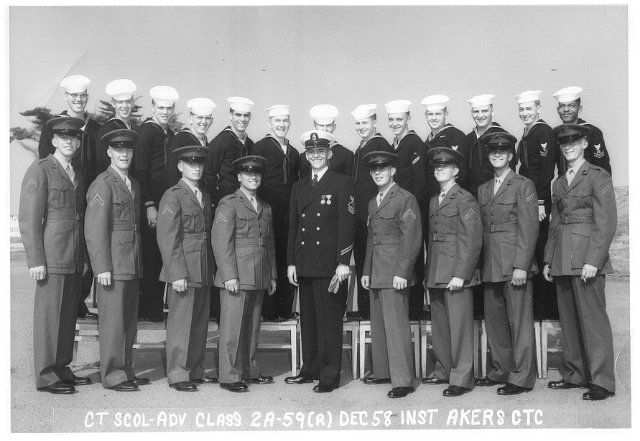 Imperial Beach CT School Advanced Class 2A-59(R)  -  December 1958