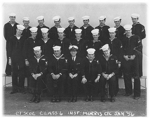 Imperial Beach CT School Adv. Class 6-56(R) - January 1956