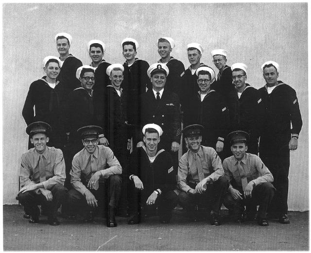 Imperial Beach CT School Adv. Class 10D-61(R) - Apr 1961 - Instructor CTC Heitzinger