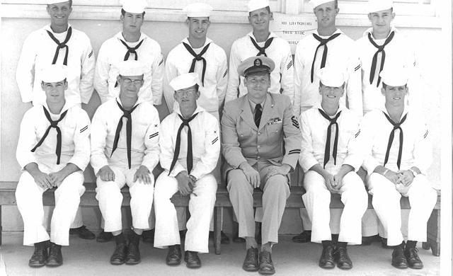 Imperial Beach (IB) Basic Class ?-55(R)  Jun 1955 - Instructor CTC Griffin