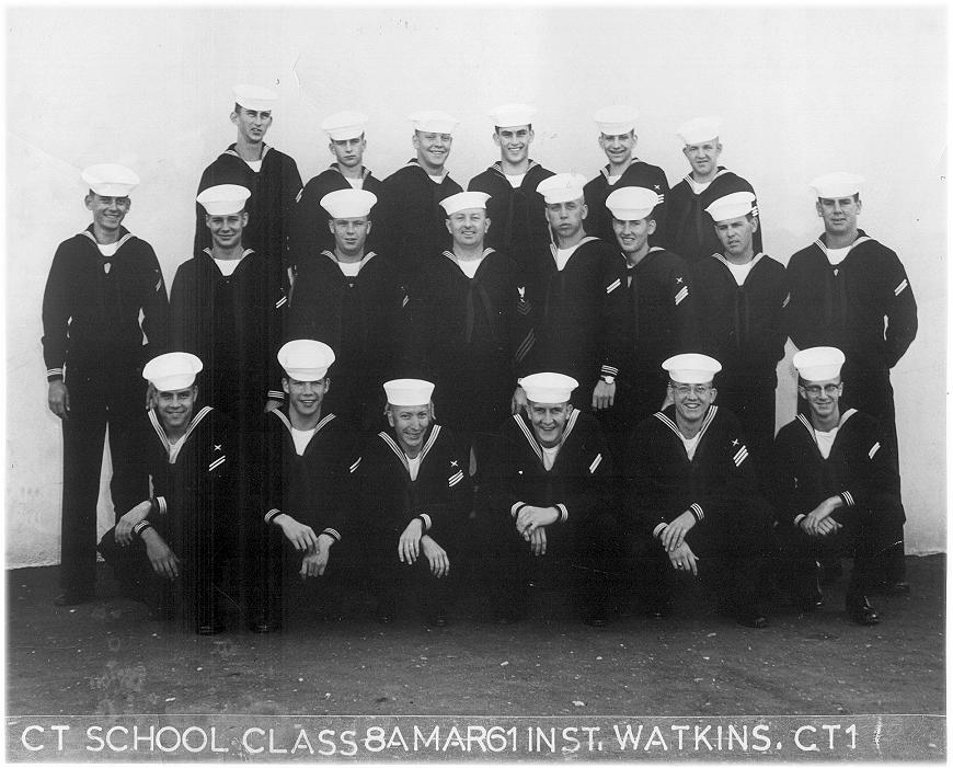 Imperial Beach (IB) Advanced Class 8A-61(R) March 1961 - Instructor CT1 Watkins