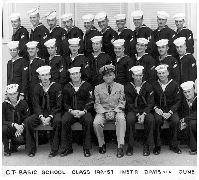 Imperial Beach Basic CT School Class 19A-57 - June 1957