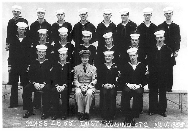 Imperial Beach CT School Class 2B-56(R)  -  Nov 1955