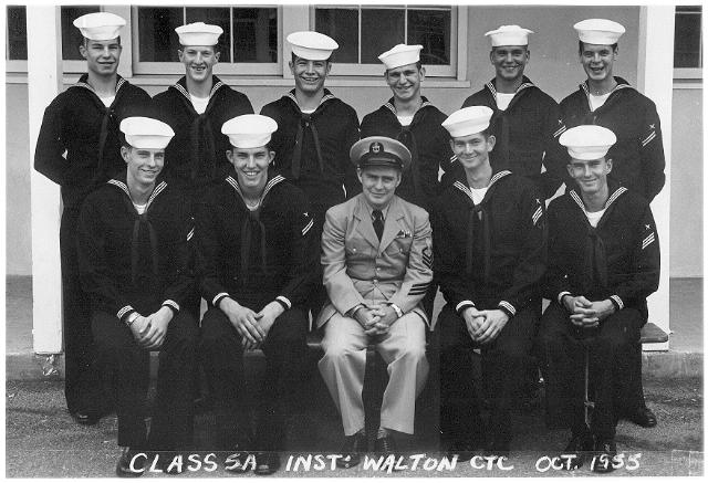 Imperial Beach CT School Class 5A-56(O) - October 1955
