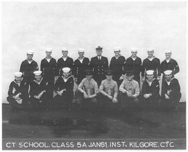 Imperial Beach CT School Advanced Class 5A-61(R)  -  January 1961