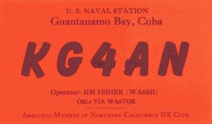 KG4AN - Gitmo Club Station