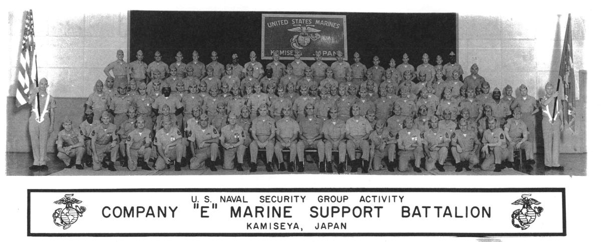 Nsga Kamiseya Japan Usmc Company Quot E Quot Marine Support