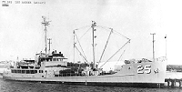 USS Banner prior to retrofit
