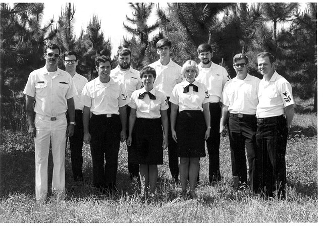 Corry Station Wideband Ops classes of 29 July 1983 - Instructor Unknown