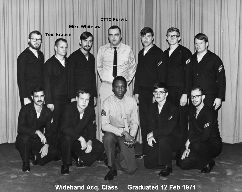 Corry Field CT School Class ?-71  February 1971 - Instructor:  CTTC Purvis