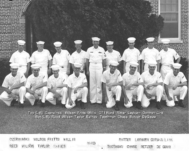 Corry Field Basic Class ??-65(R) Oct 1964 - Instructor: CT1 Ward