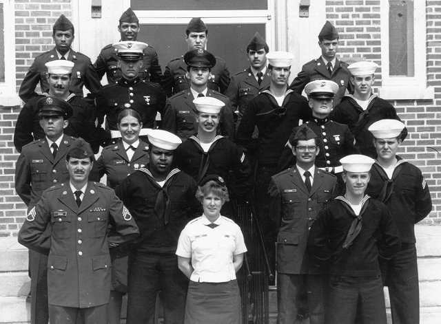 Corry Station Basic T-branch class of 20 March 1983 - Instructor SSG Crown