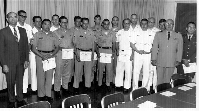 CT School Photos - Fort Meade, MD .. CY-155 Adv. Morse Supervisor Course - 1969