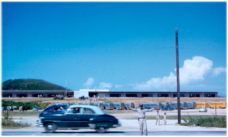Ncs Guam 1953 The Old Base At South Finegayan From Mike