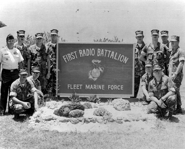 1stRadioBn, FMF, Hawaii SSD Class - date unknown