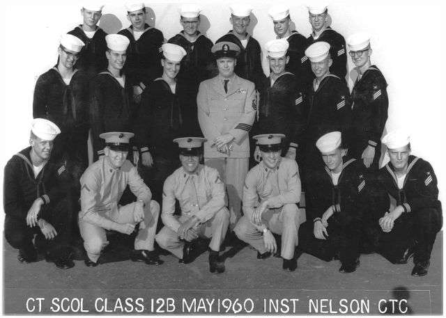 Imperial Beach (IB) Adv Class 12B-60(R) May 1960 - Instructor CTC Nelson