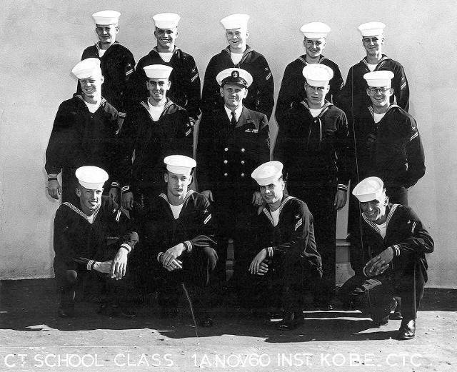 Imperial Beach (IB) Advanced Class 1A-61(R) Nov 1960 - Instructor CTC Kobe