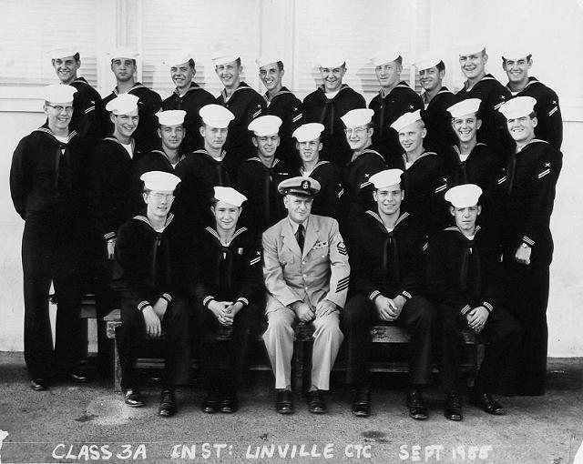 Imperial Beach (IB) Basic Class 3A-56(R) Sep 1955 - Instructor: CTC Linville