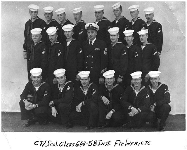 Imperial Beach (IB) Class 6-58(O) Dec 1957 - Instructor CTC Fielner