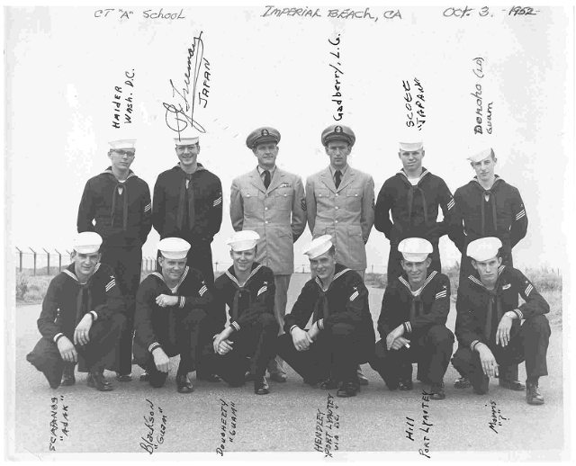 Imperial Beach (IB) Class ?-52(O) Oct 1952 - Instructor CTC Unknown