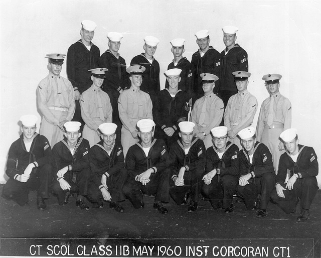 Imperial Beach (IB) Advanced Class 11B-60(R) May1960 - Instructor CT1 Corcoran