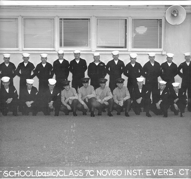 Imperial Beach (IB) Basic Class 7C-61(R) Nov 1960 - Instructor CT1 Evers