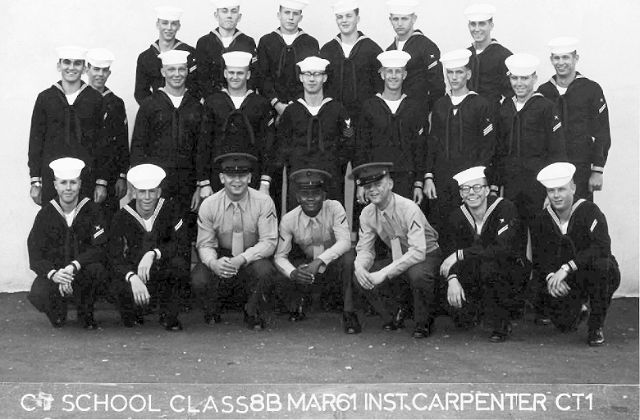 Imperial Beach CT School Adv. Class 8B-61(R)  -  Mar 1961