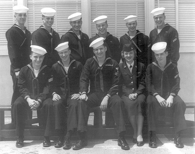 Imperial Beach (IB) Basic Class ?-54(R) Spring of 1954 - Instructor CT1 J.E. Montgomery