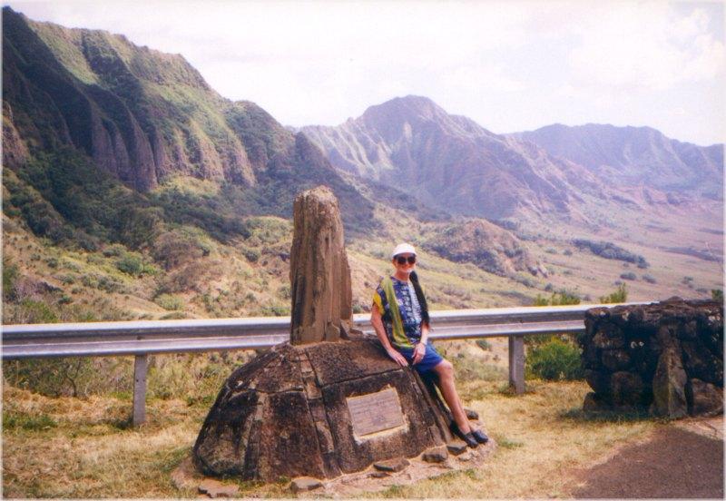 Waianae coast and Kolekole Pass