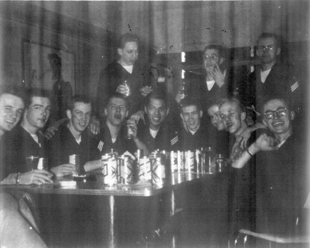 NSGDept at NCS Adak, Alaska - Clam Lagoon enlisted men's Club - circa 1955/1956