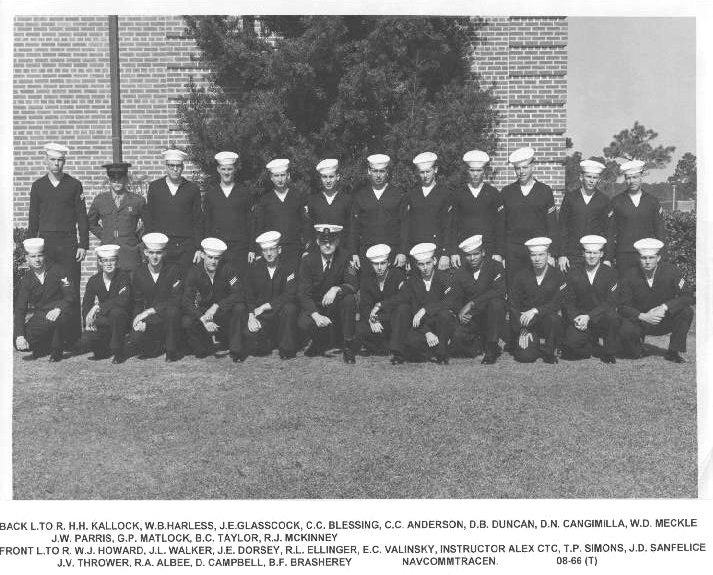 Corry Field Class 08-66(T) ___ 1966 - Instructor: CTC Alex