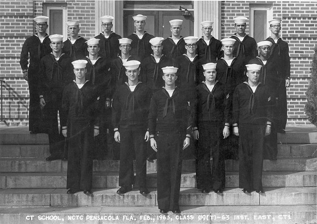 Corry Field (CTT) Adv. Class 09-63(T) Feb 1963 - Instructor: CT1 East