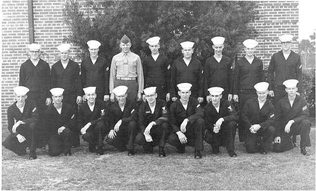 Corry Field CT School Class 14B-66(O) - 1966  - Instructor: CT1 Ed Muchow