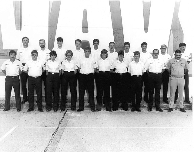 Corry Station Wideband class of August 6, 1982 - Instructor Unknown