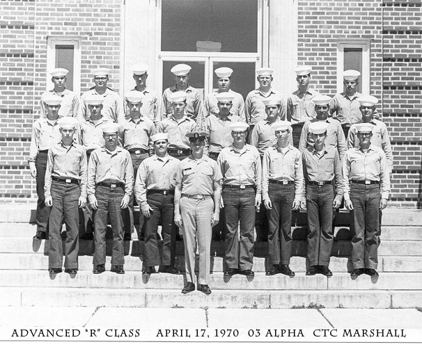 Corry Field CT School CTR Adv. Class 03A-70(R) April 1970 - Instructor: CTC Marshall
