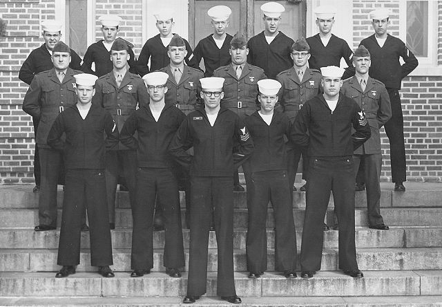 Corry Field (CTR) Adv Class 05A-64(R) Jan 1964 - Instructor CT1 Melvin Smith