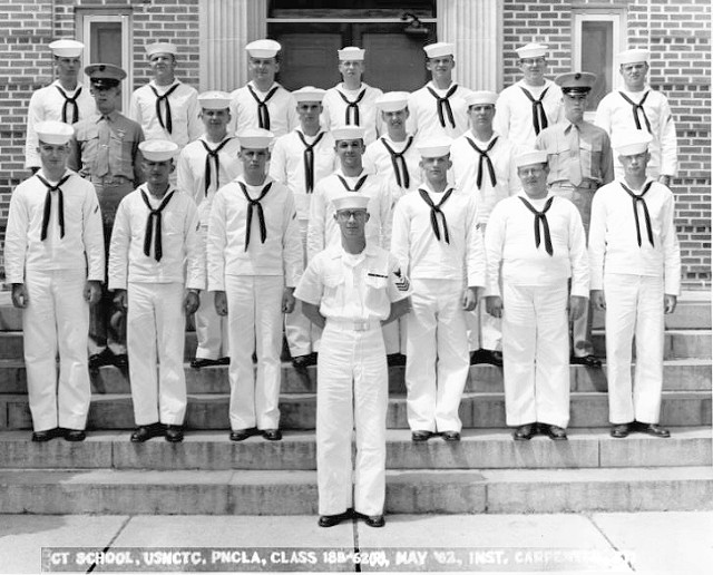 Corry Field (CTR) Basic Class 18B-62(R) May 1962 - Instructor CT1 Carpenter