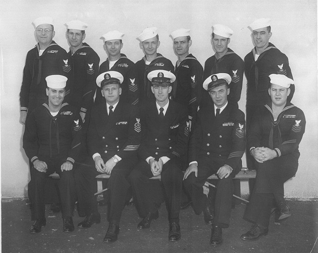Imperial Beach (IB) Advanced CTR Class - Late 1955/Early 1956 - Instructor CTC H.K. Roth