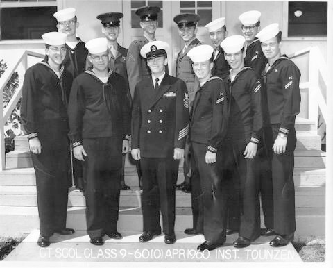 Imperial Beach (IB) CTO Advanced Class 9-60(O) Apr 1960 - Instructor CTC Tounzen