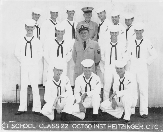 Imperial Beach (IB) Advanced Class 22-60(R) Oct 1960 - Instructor CTC Heitzinger