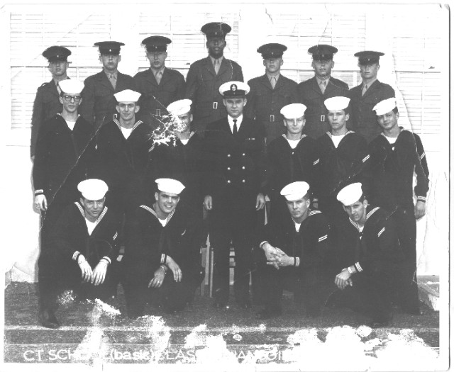 Imperial Beach (IB) Basic Class 11C-60(R) January 1960 - Instructor CTC Justice