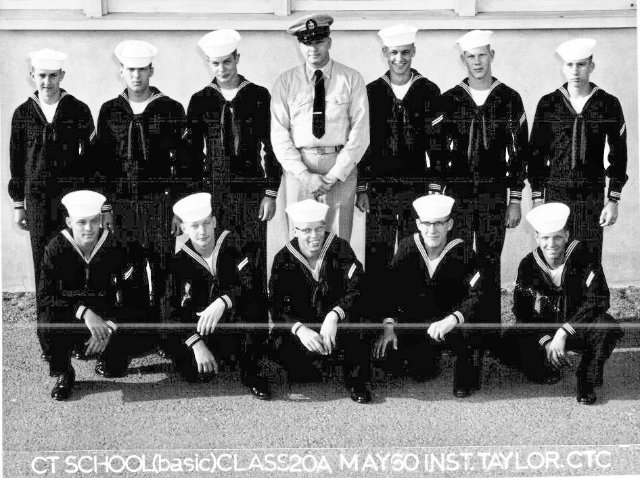Imperial Beach (IB) Basic Class 20A-60(R) May 1960 - Instructor CTC Taylor