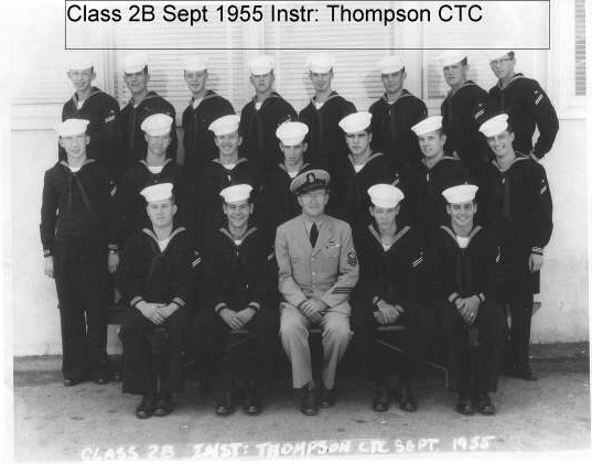 Imperial Beach (IB) Basic Class 2B-56(R) Sep 1955 - Instructor CTC Thompson