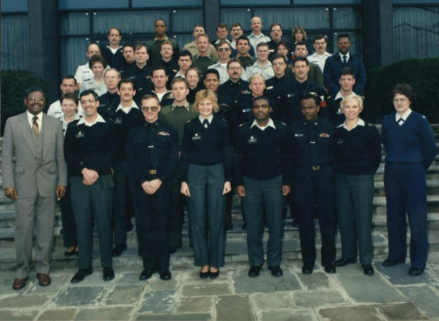Fort Meade, MD CY-200 Senior Military Cryptologic Supervisors Course of February 2, 1989